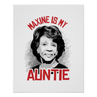 Maxine is my Auntie - Poster