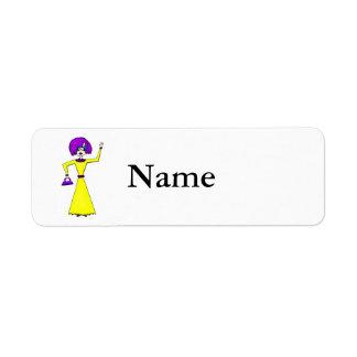 Maxine Return Address Labels