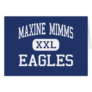 Maxine Mimms - Eagles - High - Seattle Washington Greeting Cards