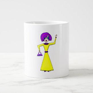Maxine 20 Oz Large Ceramic Coffee Mug