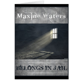 Maxine Waters Card