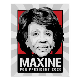 Maxine Waters for President 2020 - Poster