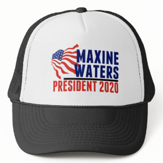 Maxine Waters for President 2020 Trucker Hat