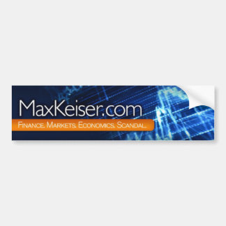 MaxKeiser.com Bumper Sticker