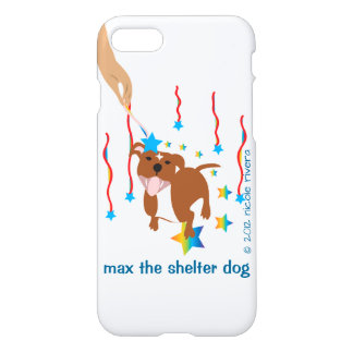 Max's Being Blessed iPhone 7 Glossy Case