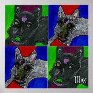 Max's Dog Poster GVCS