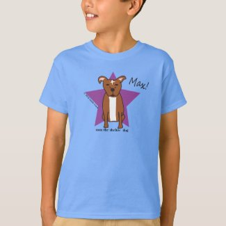 Max's My Boy Kids' Basic Hanes Tagless Tee