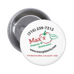 Max's Pinback Buttons
