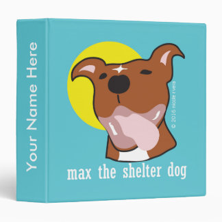 Max's Tongue Out One Touch EZD™ Ring Binder