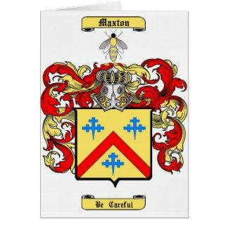 Maxton Card