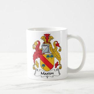 Maxton Family Crest Coffee Mug