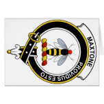 Maxtone Clan Badge Greeting Cards
