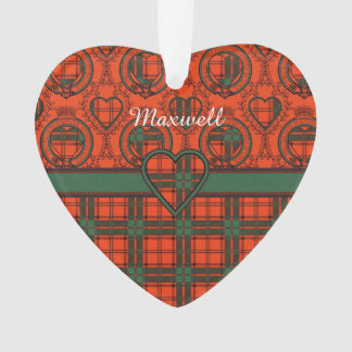 Maxwell clan Plaid Scottish tartan