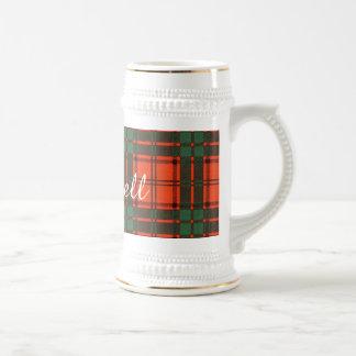 Maxwell clan Plaid Scottish tartan Beer Stein