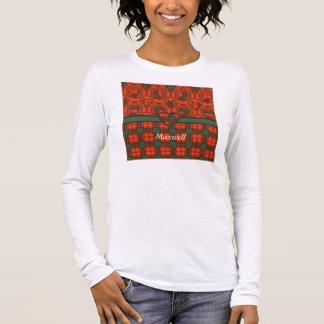 Maxwell clan Plaid Scottish tartan Long Sleeve T-Shirt