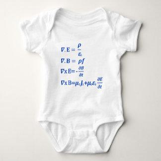 Maxwell Equation Baby Bodysuit