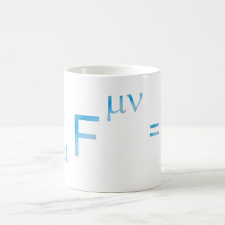 Maxwell equation equation coffee mug