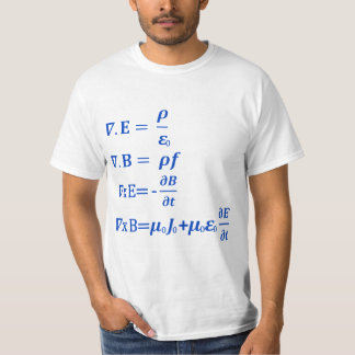 Maxwell Equation Tee Shirt