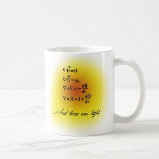 Maxwell Equations Coffee Mug