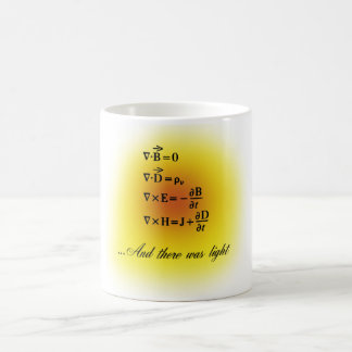 Maxwell Equations Coffee Mug
