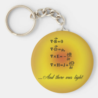 Maxwell Equations Keychain