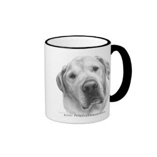 Maxwell, Lab-Pitbull Mix Ringer Coffee Mug