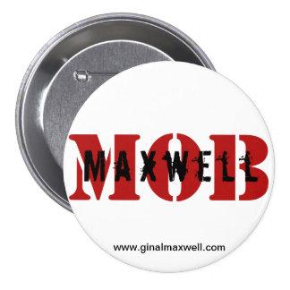 "Maxwell MOB 3"" White Button"