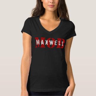Maxwell MOB Black V-Neck Tshirt