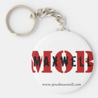 Maxwell MOB White Key Chain