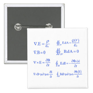 maxwell physics equation buttons