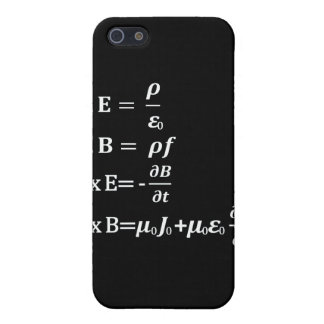 maxwell physics equation cover for iPhone SE/5/5s