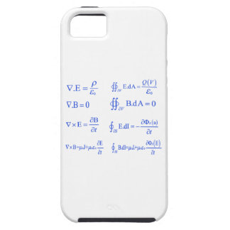 maxwell physics equation iPhone 5 cases