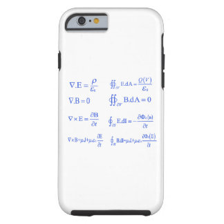 maxwell physics equation iPhone 6 case