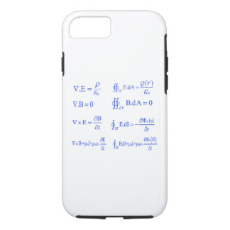 maxwell physics equation iPhone 8/7 case