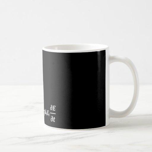 maxwell physics equation coffee mugs