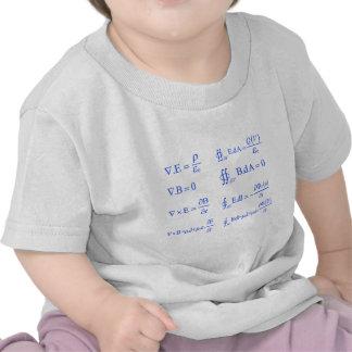 maxwell physics equation t shirt