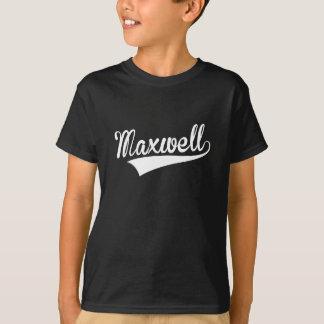 Maxwell, retro, playera
