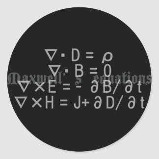 Maxwell s_Equations Sticker