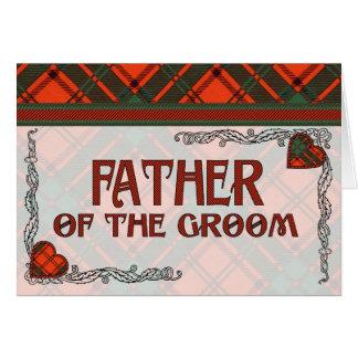Maxwell Scottish Tartan Card
