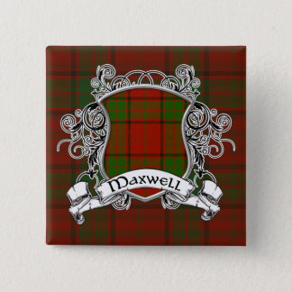 Maxwell Tartan Shield Button