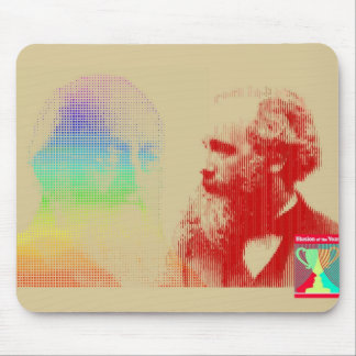 Maxwell vs Hering Postcard Mouse Mat