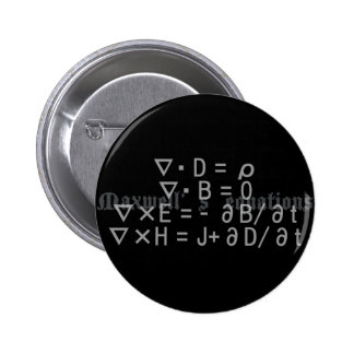 Maxwell's_Equations Pinback Button