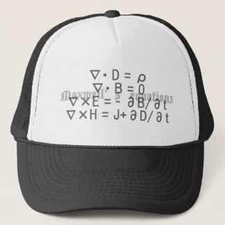 Maxwell's_Equations Trucker Hat