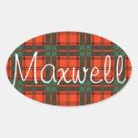 maxwellSQ.jpg Pegatina Ovalada