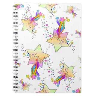 Maxxed Pop Art Star Notebook
