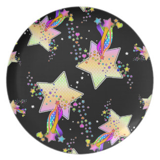Maxxed Pop Art Star Plate