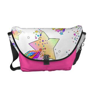 Maxxed POP ART STARS MESSENGER BAG
