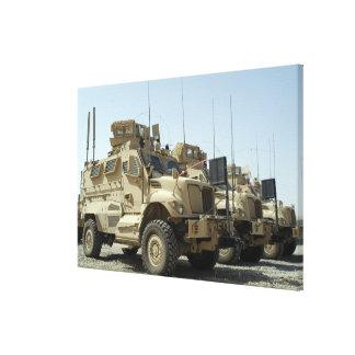 MaxxPro Mine Resistant Ambush Protected vehicle Canvas Print