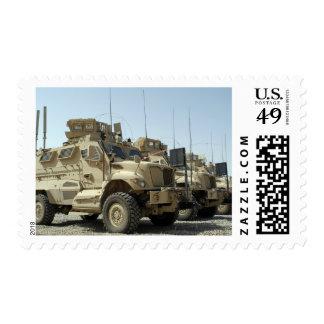 MaxxPro Mine Resistant Ambush Protected vehicle Postage Stamp
