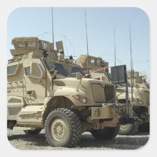 MaxxPro Mine Resistant Ambush Protected vehicle Square Sticker